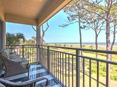 Photo for 5 star rating / Awesome 180 Degree Ocean Views / Steps to beach