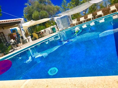 Photo for CHEERFUL 5 double bedrooms 3 bathrooms with swimming pool 10x5m2  IBIZA