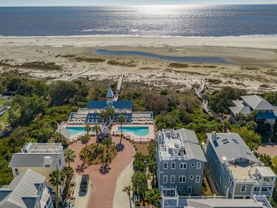 Photo for Welcome to The Emmeline Cottage!  Immaculate Oceanfront Family Beach Home, Pool, Rooftop Deck!