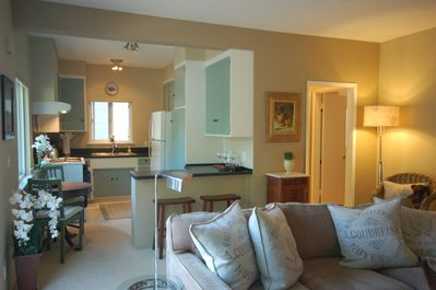 Enjoy a fully equipped kitchen - much better than a hotel