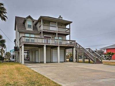 Photo for Galveston Home on Canal w/Private Dock!