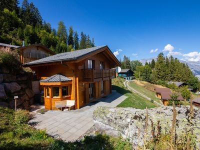 Photo for Chalet Belle Roche, La Tzoumaz, Switzerland