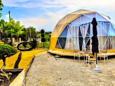 Photo for Glamping Dome at the Neusiedlersee / fertörakos / Rust / Mörbisch / Burgenland