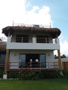 Photo for MAYAKAAN HOUSES, FANTASTIC BEACH VIEW w/ROOFTOP 1
