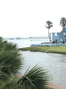 Best view of Aransas Bay, from the patio!