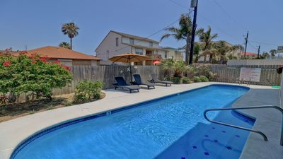 Photo for UPSCALE DUPLEX/ 2 Bdrm or 4 Bdrm / Pool with Garden Area /Short walk to Beach