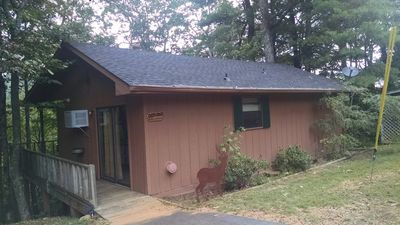 Photo for Deer Ridge cabin at HFL-Vogel Park,walk to Helton Falls waterfall,Helen 25 mi