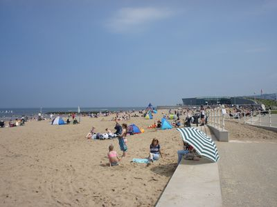 Photo for Sunny holiday home near to the sandy beach of colwyn bay