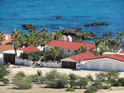 The house and two casitas sleep 16.  Rent 2, 4 or 6 bedrooms.