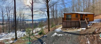 Photo for Country Mile - Hot Tub, Mountain View, Gas Fireplace, Short Drive to Two Ski Resorts & Two State Parks