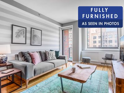 Photo for Modern Chelsea 1 BR w/ Balcony, Doorman + Gym by Blueground