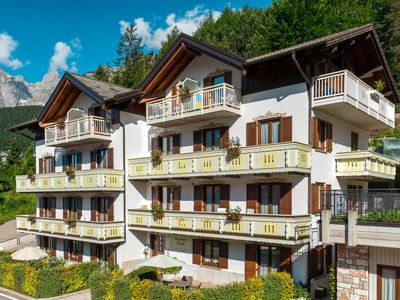 Photo for Apartment Residence Pineta (MLV100) in Molveno - 3 persons, 1 bedrooms