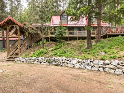 Photo for Book 2 nights get 3rd free--Cozy Leavenworth/Lake Wenatchee hot tub; dogs ok