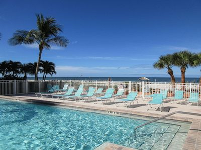 Photo for Brand New Listing At Bargain Price! Beachfront Leonardo Arms 407 Offers Sun and Fun!