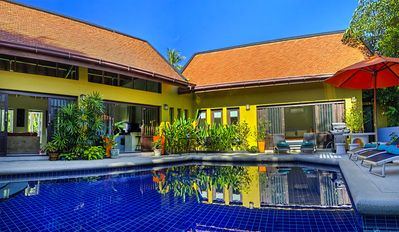 Photo for 4 Bed Palm View Villa With Pool, Cinema, Jacuzzi & Car-Less than 5 Mins to Lamai