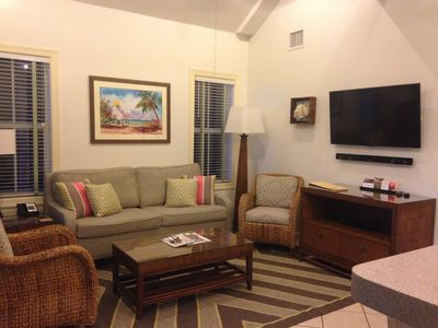Living Room - only available in 1 or 2 bedroom rentals.  N/A for studio rental.