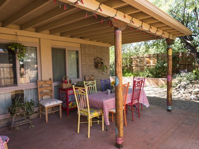 Photo for Charming Southwest Getaway with Lovely Garden and Patio