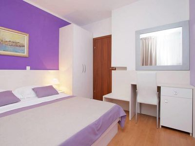 Photo for Two bedroom apartment with air-conditioning Split (A-15276-b)