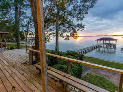 Photo for Lake Houston Vacation Home, Breathtaking Views, Floor to Ceiling Windows.