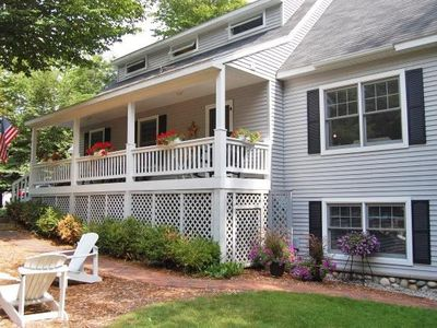 Photo for In the heart of Glen Arbor - Walking distance to shops, dining and beaches