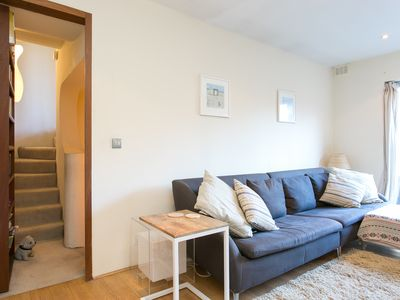 Photo for UP TO 20% OFF- Sophisticated apartment in leafy Highgate (Veeve)