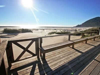 Photo for WAVE WALKER~MCA 366~Oceanfront home.  Step off the deck and into the sand.