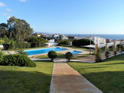 Photo for Apartment in closed residence with swimming pool.