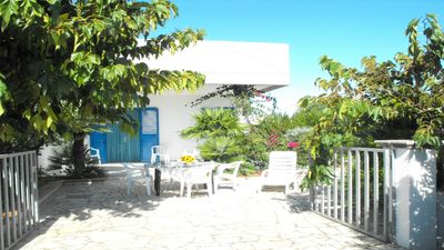 Photo for Villa at the Sea with Sea ViewTerrace, Beautiful Garden, 2 bedrooms, South Italy