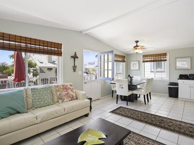 Photo for Affordable Upstairs 3 Bedroom Beach House Close to Ocean and Bay!