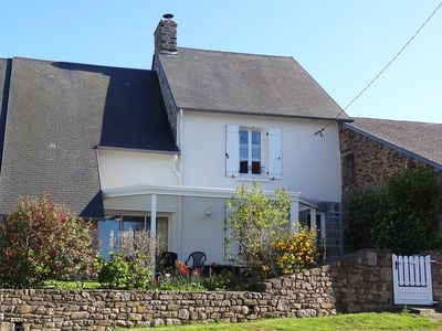Photo for COMFORTABLE 3-ROOM COTTAGE IN A HOUSE TRADITIONNAL OFF THE MONT SAINT MICHEL BAY