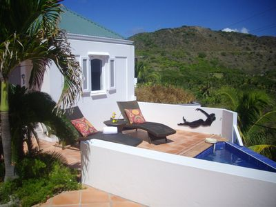 Maison Rose overlooking the Toiny Beach, St. Barts