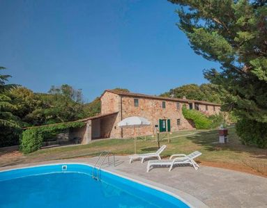 Photo for Holiday apartment Castellina Marittima for 4 - 5 persons with 2 bedrooms - Holiday apartment in a fa