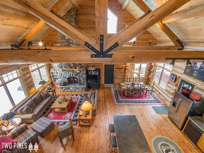 Photo for Summer in Big Sky Starts Here!- Centrally Located & Gorgeous Log Home!