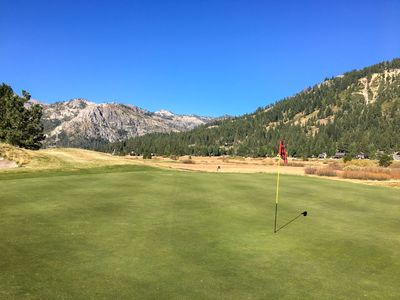 Golf Course - During warmer months, practice your swing at the championship golf course.