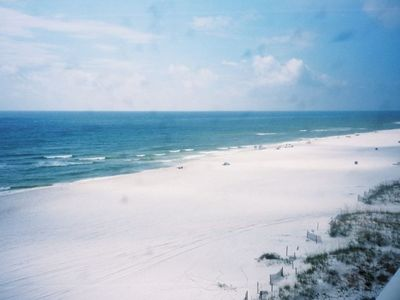Photo for Uninterrupted Gulf View !!               Direct Beach Access!