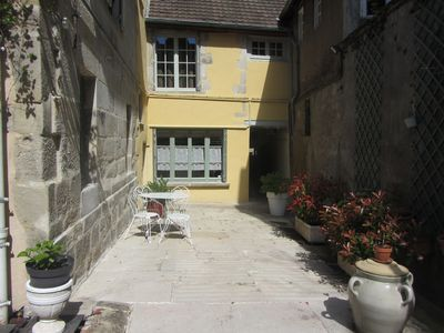 Photo for house with yard in the historical city center of Autun 3 stars