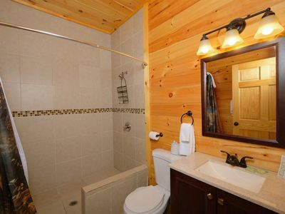 Photo for Pigeon Forge Cabin - 8 Bedroom!