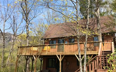 Photo for Cozy Cabin, Great View, Lake Access, Game Room, Wrap Around Porch