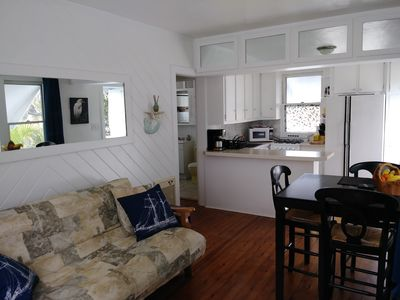 Photo for Cheerful Apt 1 Block to Intracoastal Waterway and bridge access to Ocean