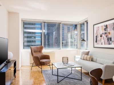 Photo for Sonder | Theater District | Serene 1BR + City View