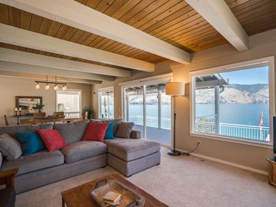 Photo for Sunny Lake Chelan Waterfront Home - Sleeps up to 11