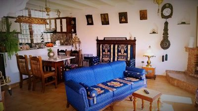 Photo for Penthouse apartment 70 sq.m. decorated with antiques and a leafy terrace ...!