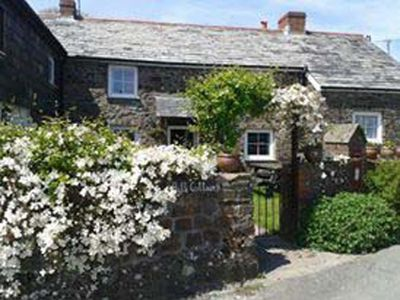 Photo for Bath Cottage, Woolley. 200 yr old stone cottage in charming North Cornish hamlet