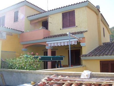 Photo for Beautiful house with entrance and large terrace, close to the Sardinian sea