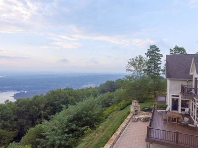 AMAZING VIEWS! Lake Access Home w/Private Indoor Pool, Dock Slip, & Hot Tub!