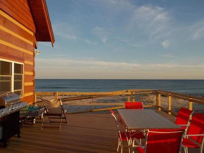 Photo for THIS WEEKEND DISCOUNTED in The Cabin, a one of a kind Oceanfront Home