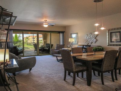 Photo for Vacation In Style At A Great Price!  Bella Lago Deluxe 2B/2B w/ Den Condo Steps From Beach!