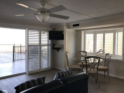 Photo for Newly-renovated Oceanfront Unit 101... Step Onto The Boardwalk And Into The San