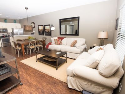 Photo for Modern Bargains - Lucaya Village - Feature Packed Relaxing 3 Beds 2 Baths Townhome - 3 Miles To Disney