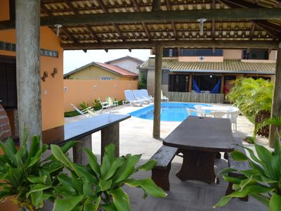 Photo for BEAUTIFUL HOUSE WITH 50 MTS FROM THE BEACH, SWIMMING POOL AND KIOSK!Promotion for Corpus Christi